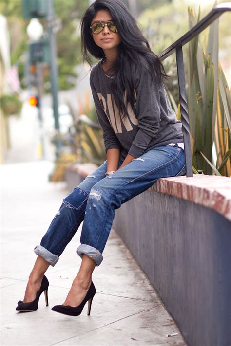 casual model girl style bloggers denim outfit of the day denimology