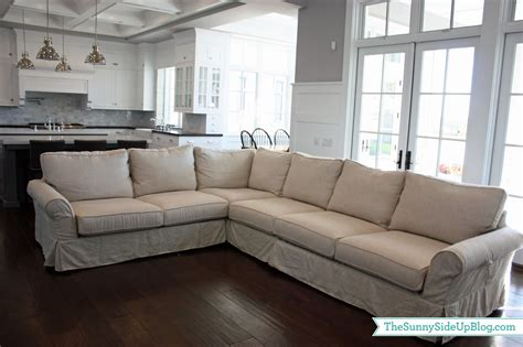 Most Comfortable Sectional Sofas family room decor update the sunny side up blog