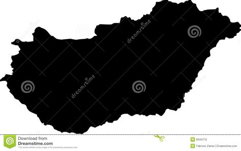 hungary map vector vector map of hungary stock vector image of artwork sign