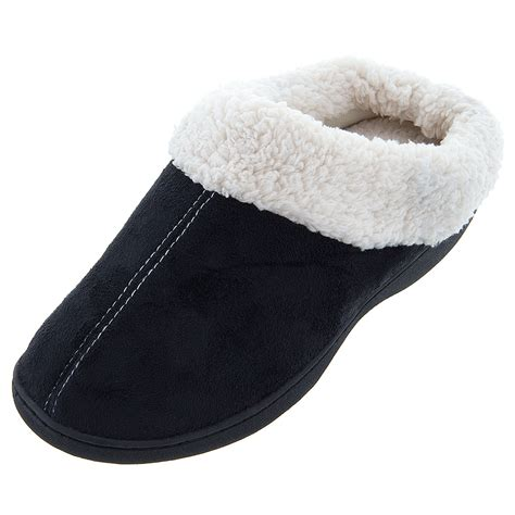 clog slippers isotoner sherpa clog slippers for