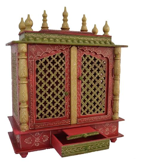 stunning wooden pooja mandir designs for home pictures