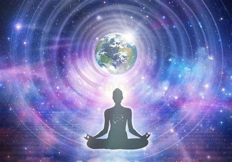 spiritual energy reiki stock photo image  universe