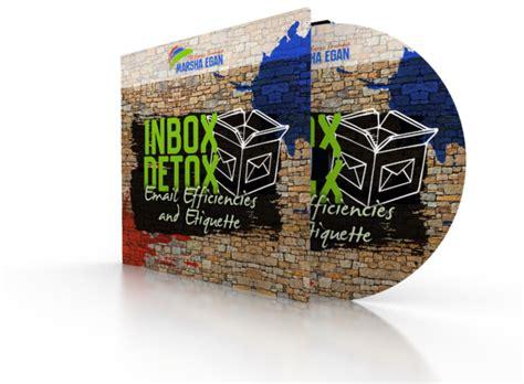Inbox Detox by Inbox Detox Email Efficiencies And Etiquette Marsha Egan