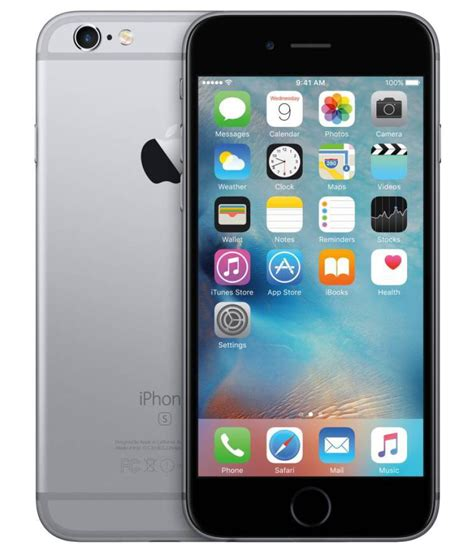 apple iphone  gb  gb space grey mobile phones