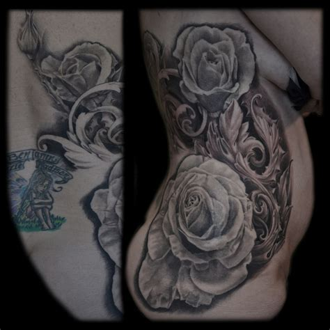 filigree tattoos roses and filigree maximilian