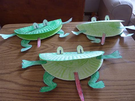 paper frog craft leap day amanda markel