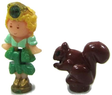 Polly Browne And The Secret 1992 polly pocket jeweled forest bluebird toys