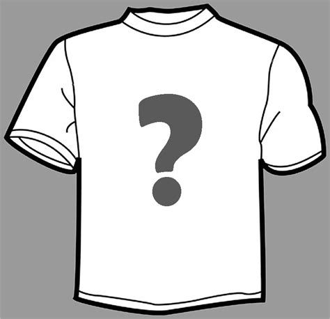 Drawing T Shirt Designs by T Shirt Outline Clipart Best