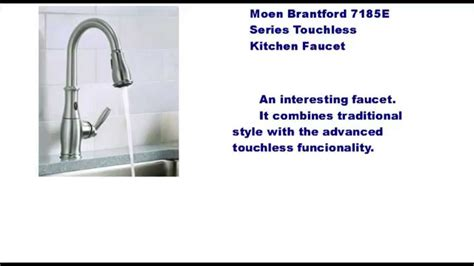 moen brantford  motionsense kitchen faucet pluses  problems youtube