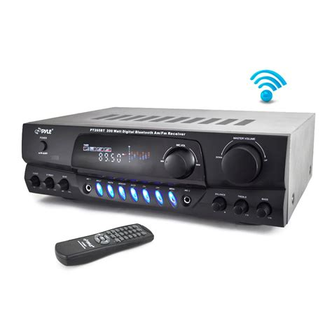 pylehome ptbt home  office amplifiers