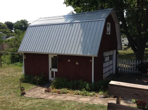 gambrel roof barn pro rib steel gambrel roof barn edgerton ohio