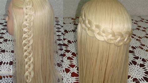 trenza de  gajoscabos  strand   braid hair