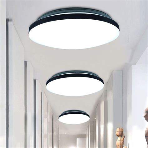 Ceiling Light Kitchen 24w Led Pendant Ceiling Light Flush Mount Fixture Chandelier Kitchen L 3modes Ebay