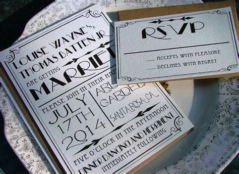 wedding invitations deco deco wedding invitations gatsby wedding by