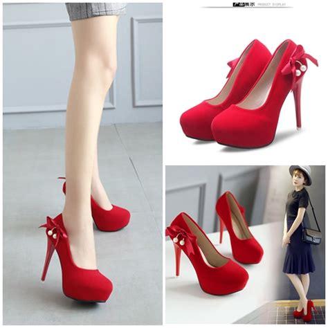 Sepatu Wanita Heel 12cm jual shh6001 sepatu heels cantik 12cm grosirimpor