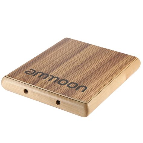 Travel Cajon 1 ammoon compact travel cajon flat drum persussion sale shopping other tomtop