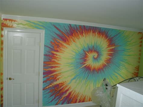 tie dye home decor acrylic painting ideas abstract wall paint stencils