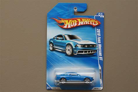 Hw Garage by Wheels 2010 Hw Garage 2010 Ford Mustang Gt Blue