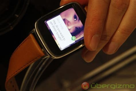 Asus Makes Its Zenwatch Asus Zenwatch Makes Its Official Debut And It Looks