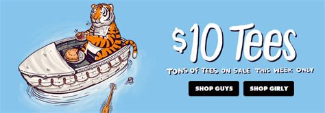 Threadless 10 Sale by 10 Threadless Sale And Free Shipping