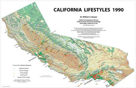 california map landforms maps page 5 ape con myth