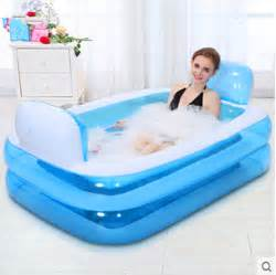 bathtub folding bath tub thickening tub