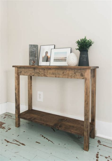 sofa table with bottom shelf the walnut pine wood sofa table with bottom