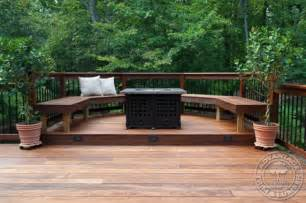 Backyard Decking by 35 Cool Outdoor Deck Designs Digsdigs