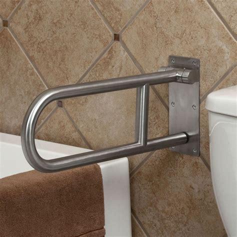 handicap bathroom grab bars pickens flip up grab bar ada compliant brushed