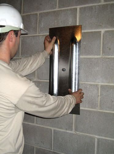 basement wall anchor plates bowing foundation wall repairs in ohio and indiana