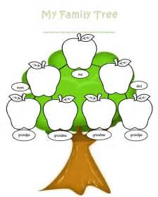 Crafts For Kids To Make For Mom - blank family tree template welcome to the kindergarten