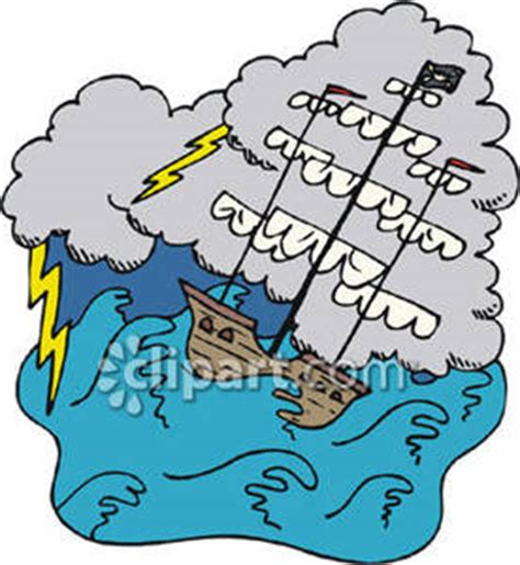 cartoon boat in storm a clipart panda free clipart images