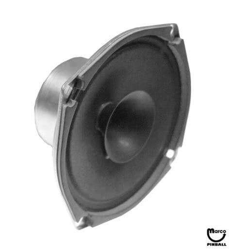 Speaker Toa 25 Watt speaker 5 1 2 inch 8 ohm 25 watt 5555 15098 00 marco pinball parts