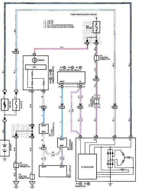 gs300 alternator wiring diagram images diagram sle