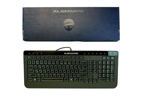 new genuine dell alienware multimedia slim usb keyboard sk 8165 40cm0 newegg