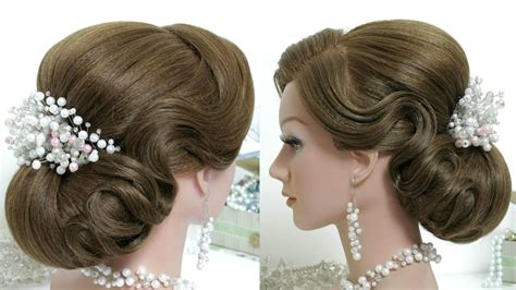 Wedding Hairstyles Tutorial For Hair by Hairstyle For Hair Tutorial Bridal Updo Step By Step