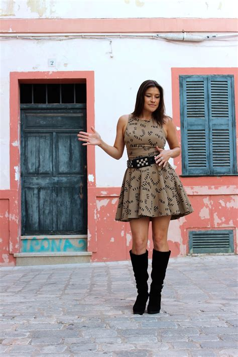 dress with boots how to wear boots with dresses v style