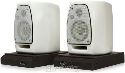 Krk Vxt 4 White krk vxt4 monitor bundle sweetwater