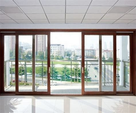 Best Patio Sliding Doors Large Sliding Glass Doors Within A Wooden Frame