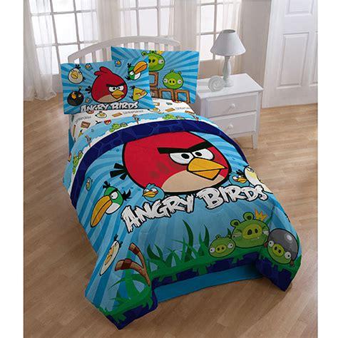 angry birds bedding angry birds reversible comforter walmart com
