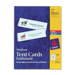 medium tent card 2 per sheet template avery tent card ld products