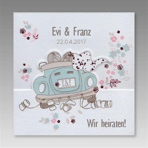 Einladung Zur Hochzeit by Witzige Einladung Zur Hochzeit Mit Comic Cabrio
