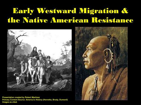 of the american resistance you are the one we been waiting for books ppt early westward migration the american resistance powerpoint presentation id 373865