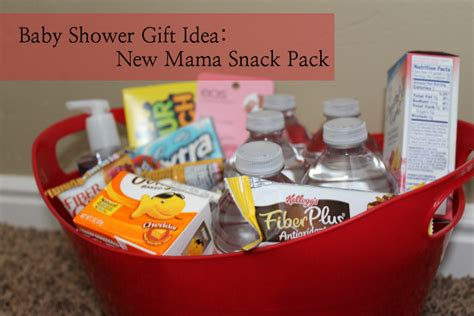 Gifts For New Mothers - diy baby shower gift new snack pack