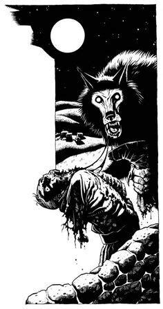 Mokole - White Wolf, World of Darkness. | Old World of