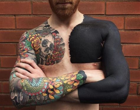 solid black tattoo gorgeous customized solid black tattoos that are truly