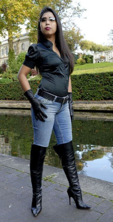 Boot Heel Kulit 1000 images about leather gloves and boots on
