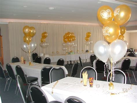 gold anniversary themes 50th wedding anniversary centerpieces ideas for table
