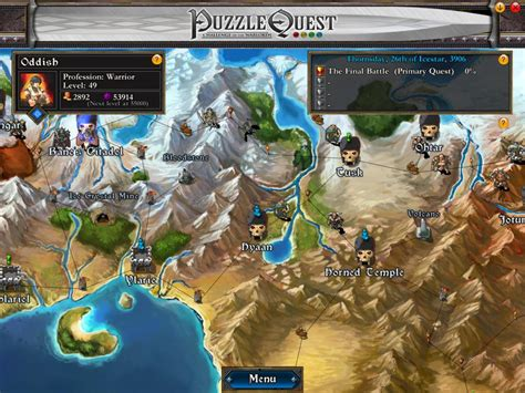 puzzle quest challenge of the warlords puzzle quest challenge of the warlords обзор игры