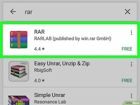 open rar on android como abrir arquivos rar no android 10 passos